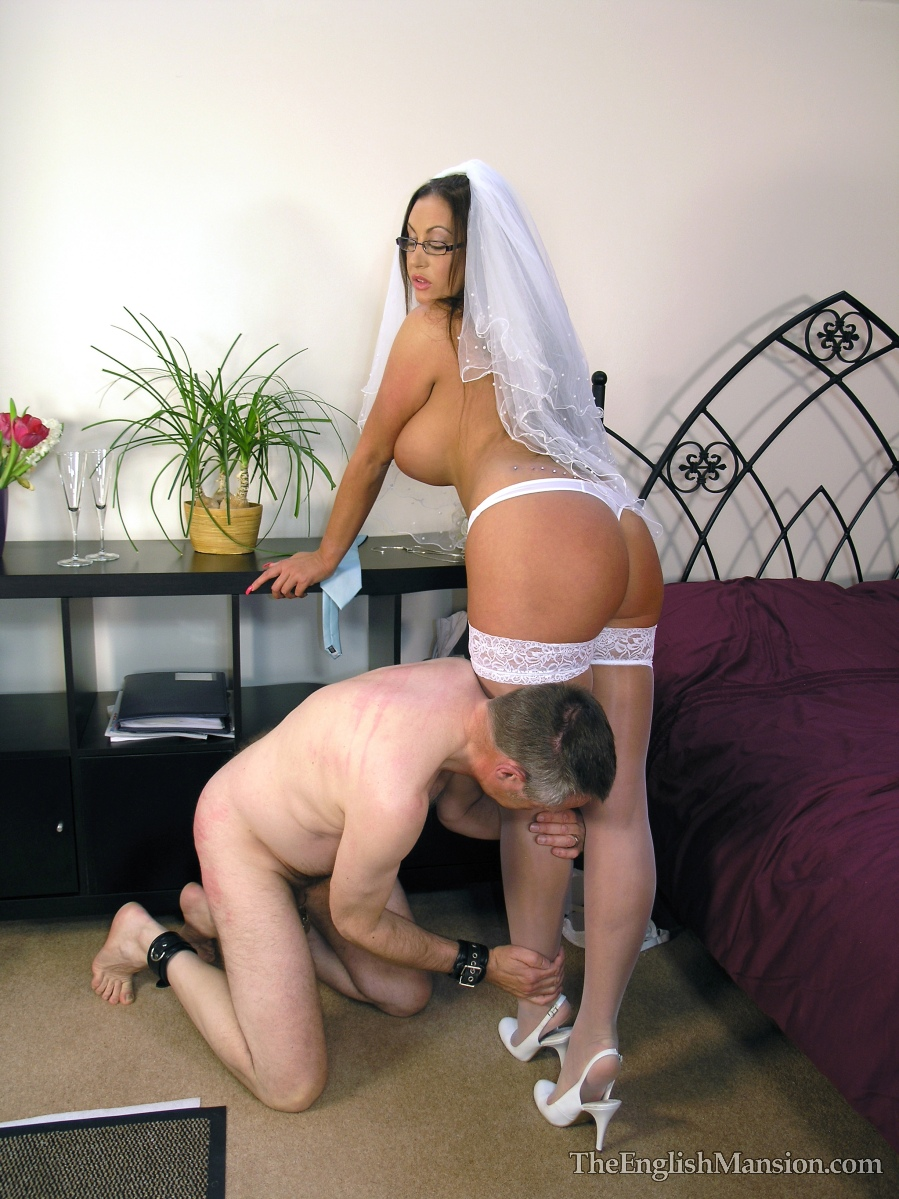 Dominant wife controls orgasms