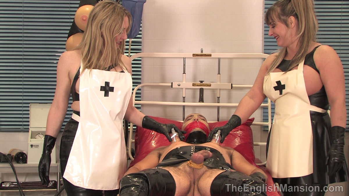 Latex bondage dildo xxx he even has a dungeon space with hump fucktoys
