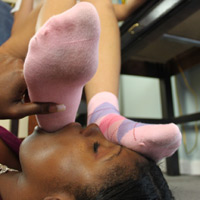 Sock slaves - The dedicated socks sniffing and domination site